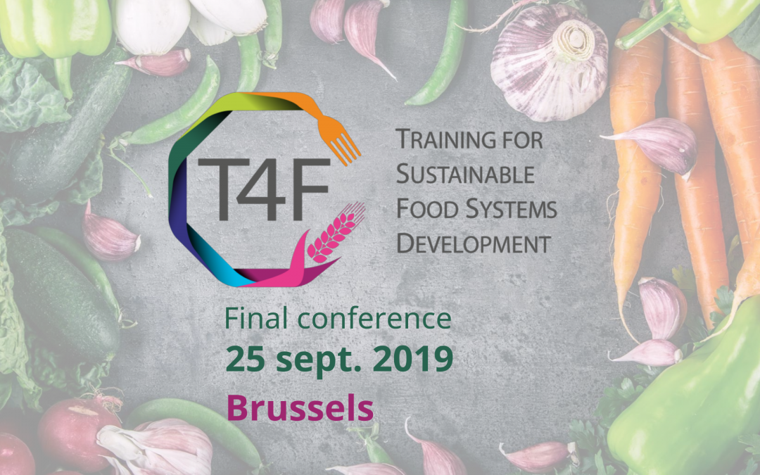Training for sustainable food systems development: final conference